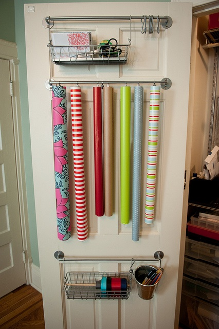 Clear The Clutter Gift Wrap Station A Project At A Time