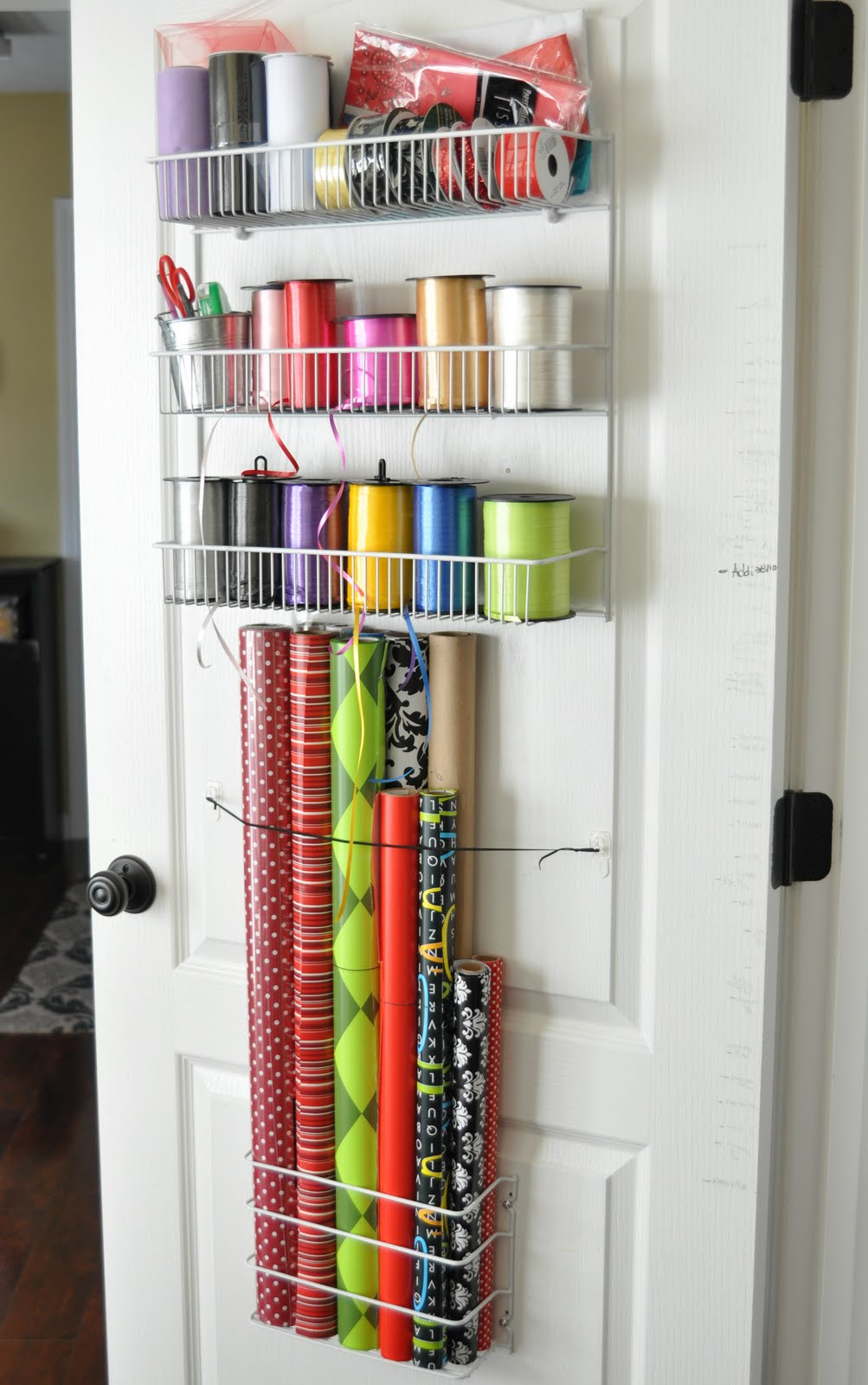 Clear The Clutter Gift Wrap Station A Project At Time