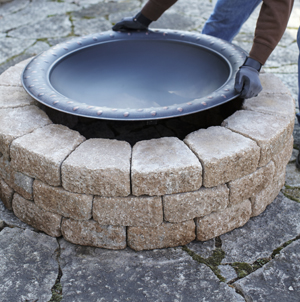 Creative collections build your own fire pit a project for Do it yourself fire pit designs