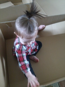 Here's why #6 isn't done. Because who doesn't love playing in a box!