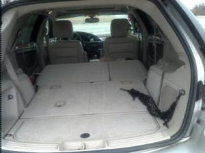 Before picture (Emily was at her sitter's so her carseat was pulled out)