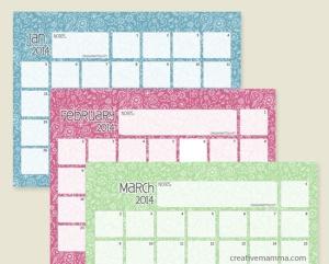 creativemamma.com-2014-calendar