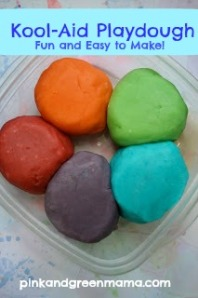 kool Aid Playdough